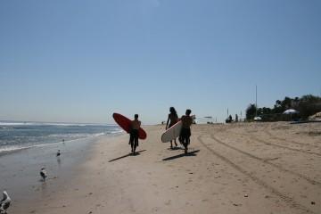 Surfer Gelassenheit