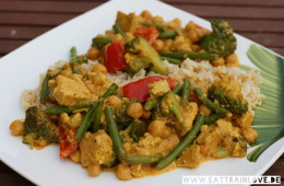 Veganes-Curry