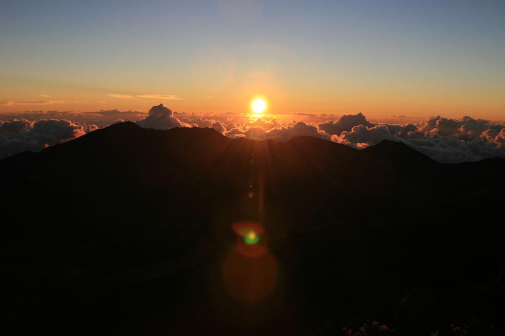 Maui-Haleakala-Sonnenaufgang