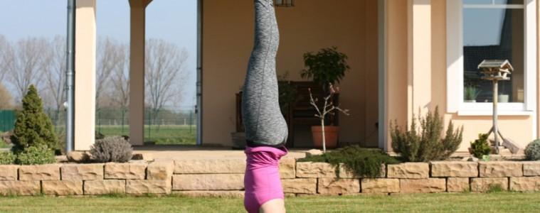 Kopfstand lernen im Yoga