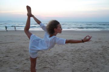 Yoga-Reise Steffi