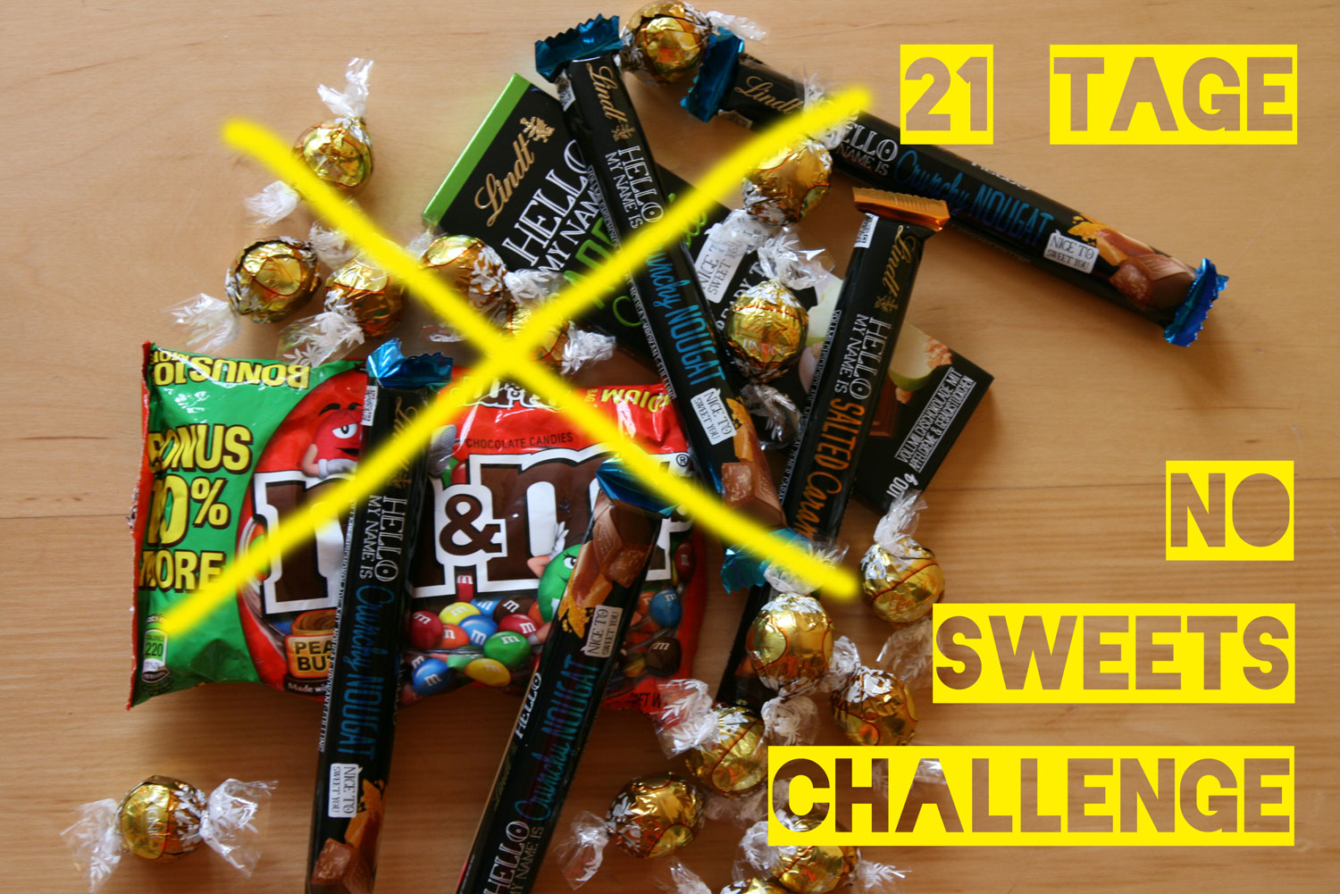 No-sweets-challenge