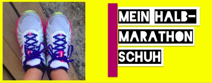 Mein Laufschuh Halbmarathon