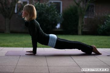 Dehnen nach dem Laufen mit Yoga
