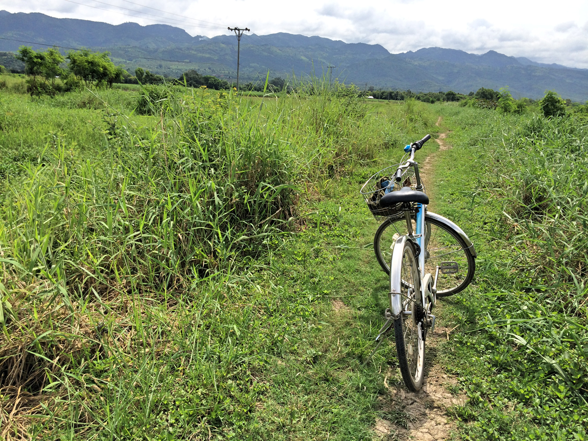 Fahrradfahren auf Reisen