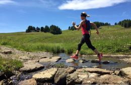 Trail Running auf der Seiser Alm