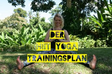 HIIT-YOGA-Trainingsplan