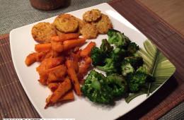 Lupinen-Tempeh-mit-Brokkoli-und-Süßkartoffel-Pommes
