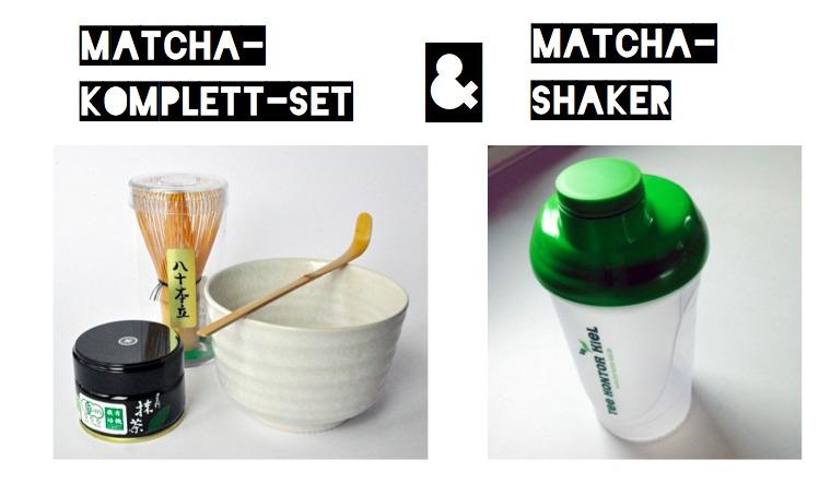 Gewinn Matcha-Komplett-Set