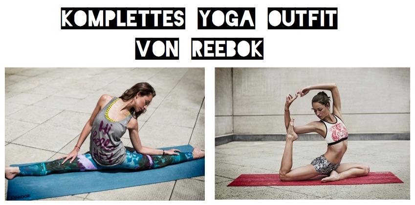 Yoga Outfit von Reebok