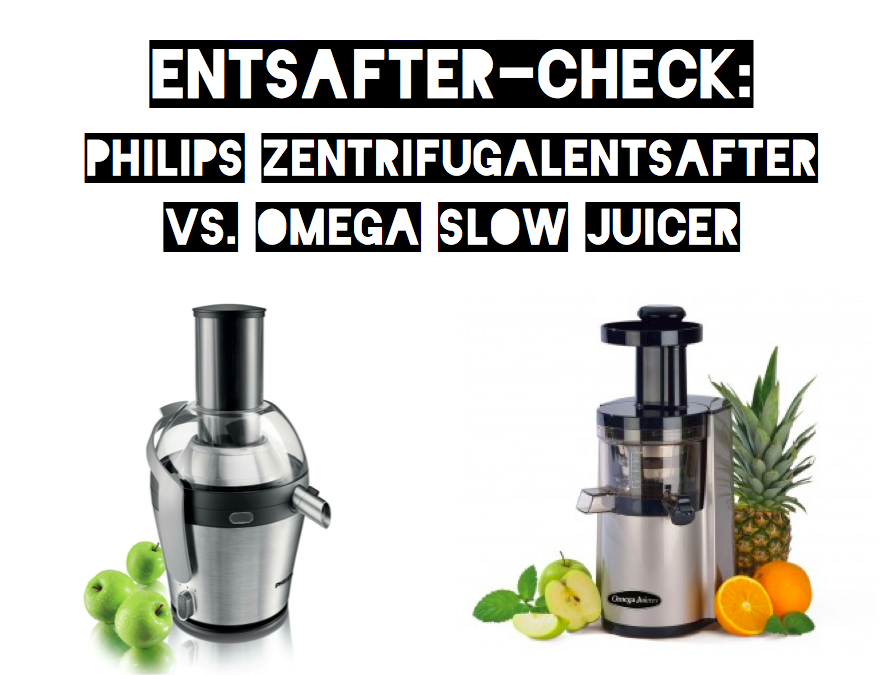 Fitness First Slow Juicer Review : Entsafter-Check Slow Juicer versus Zentrifugalentsafter