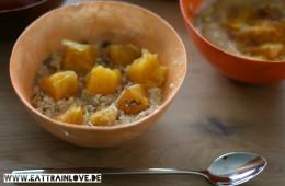Wärmende Oatmeals Winter