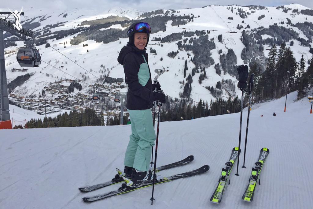 Skifahren-Saalbach