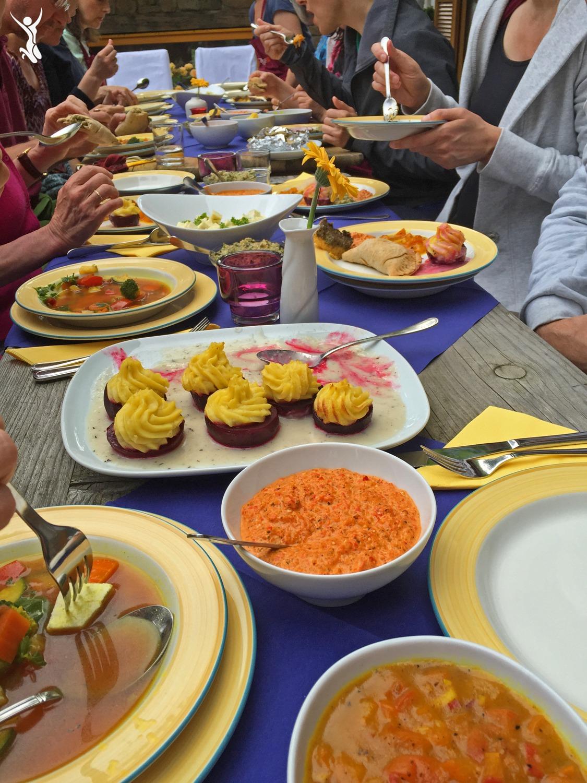 Ayurveda-Abendessen-Fest