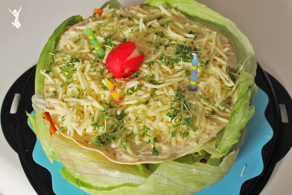 Clean-Eating-Salattorte-Rezept