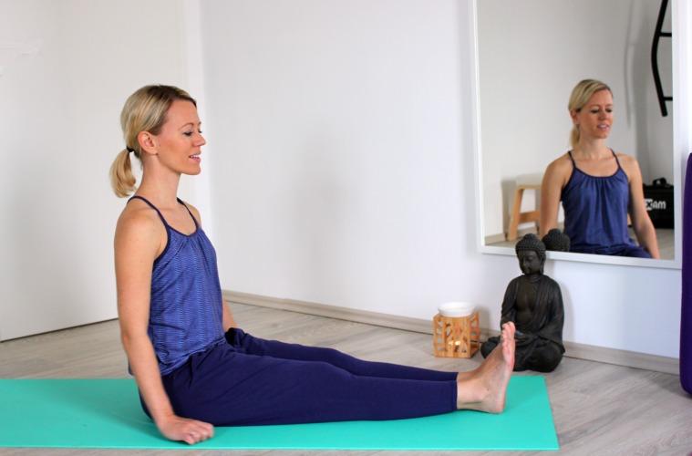 Sanfter Yoga Flow für den Frühling