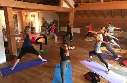 Yoga-Retreat mit Percy Shakti Johannsen im Allgäu