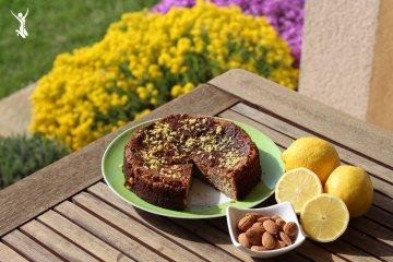 Clean Baking: Zitronen-Mandelkuchen - vegan und glutenfrei