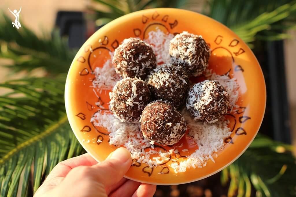 Kakao-Energy-Balls Verzicht-auf-Schokolade