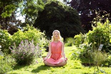 Meditation für positive Energie von Kristin Woltmann