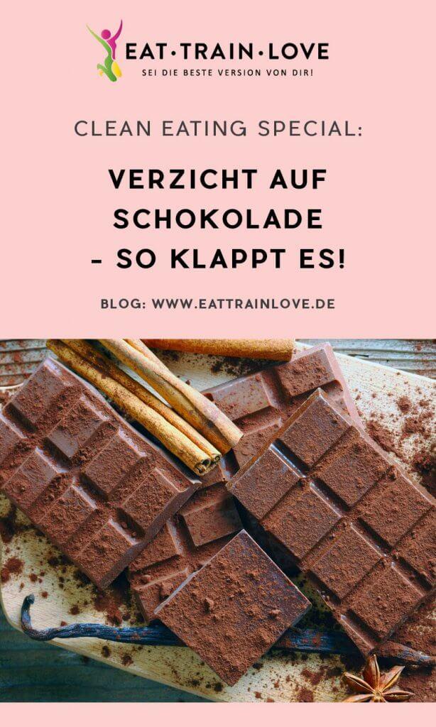 Weniger Schokolade essen