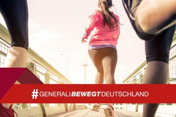 Generali bewegt Deutschland gemeinsam mit EAT TRAIN LOVE
