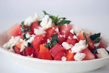 Sommer-Salat-Rezept-Melonen-Papaya-Salat