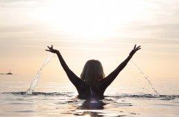 Wasser und Selbstliebe