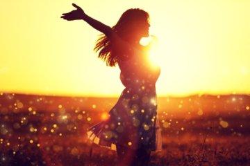 Glückliches und erfülltes Leben