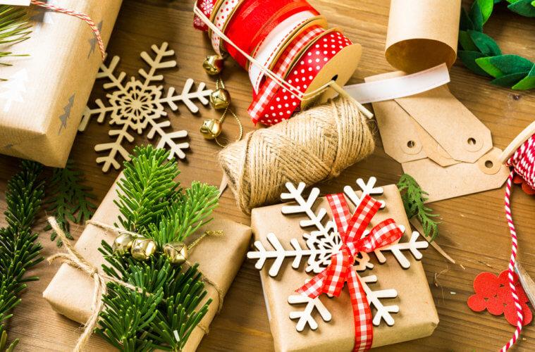 Geschenke verpacken
