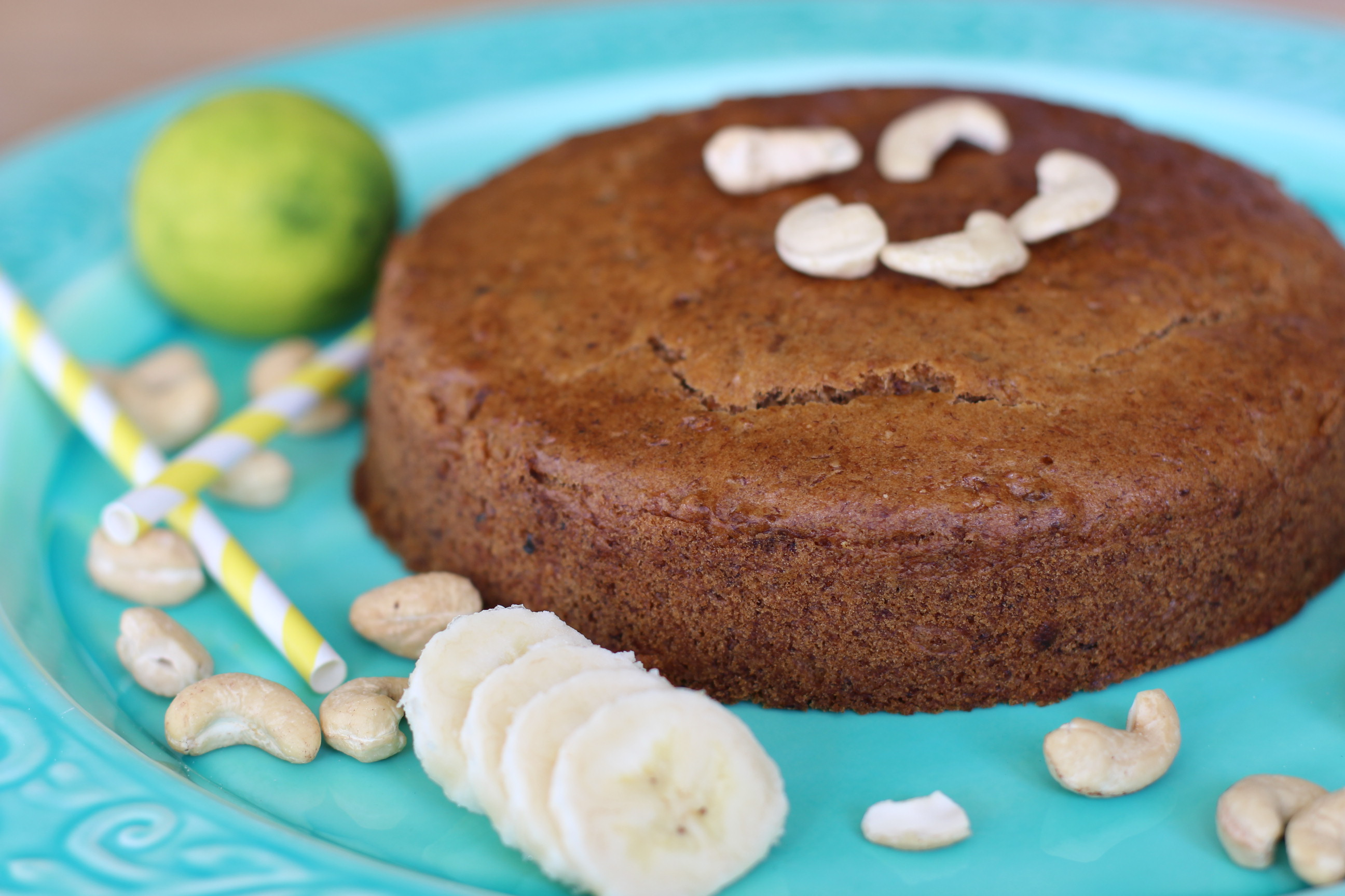 Banane-Nuss-Kuchen | Cleanes Banana Bread vegan