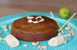 Banane-Nuss-Kuchen